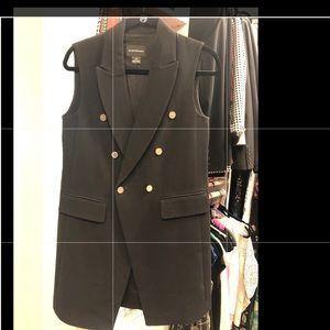 Club Monaco Black Vest Tunic